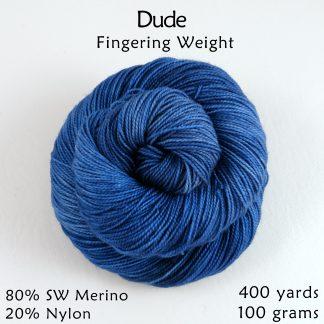Dude Fingering Weight